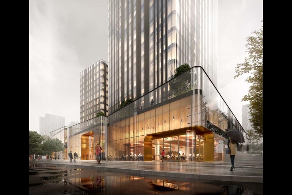 A stunning transformation of an iconic Metrotown landmark.